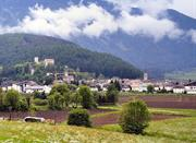 Enchanting scenery of Brunico