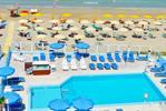 Das Hotel Casadei: ein 3-Sterne-Hotel direkt am Strand