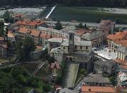 La cittadina vista dal Sacro Monte