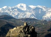 Vista del Castello di Roccascalegna
