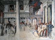 Padua, Eremitani's Church, Mantegna's work