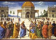 Consegna delle chiavi a San Pietro- Perugino