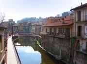 Il fiume Nigoglia bagna la cittadina piemontese