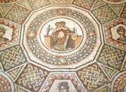Il mosaico pavimentale del secondo cubicolo