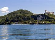 Maggiore lago dell'Italia