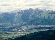 Panorama verso Nord da Col Visentin