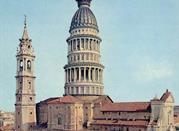 Cupola e campanile della basilica di San Gaudenzio