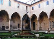 Cloister. Basilica of Saint Anthony