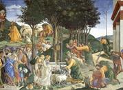 Prove di Mosè - Botticelli