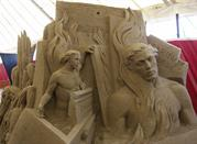 Esculturas de arena, el Infierno de Dante, 2009