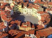 Piazza Anfiteatro top view.