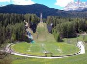 Ski Jump. Sito dei Giochi Olimpici Invernali, 1956