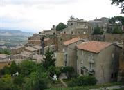 Uno dei quartieri di Orvieto