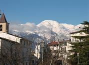 Vista dei monti da Gessopalena
