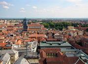 Veduta della città dalla cupola di San Gaudenzio