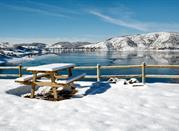 Lago Abruzzese innevato