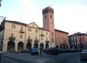 La piazza di Nizza Monferrato