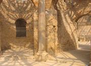 Il frigidarium delle terme