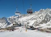 Fun mit den Skiern