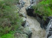 Fiume Alcantara nella zona delle Gole