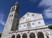 Facciata della cattedrale di Spoleto