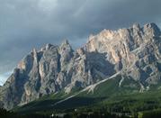 Una montagna a ridosso di Cortina d'Ampezzo