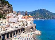 Atrani, nella Costiera Amalfitana