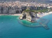 La stupenda costa degli Dei a Tropea