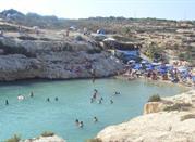 La spiaggia attrezzata di Cala Madonna