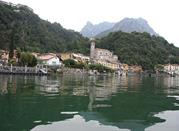 città, vista dal lago