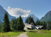 Chiesa sulle Dolomiti
