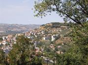 La città vista da una collina