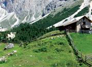 La valle delle Dolomiti