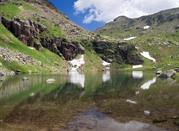 Lago sulla Val di Fassa