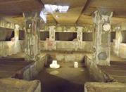 interno tomba dei rilievi