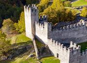 Grosio, Valtellina, castello Visconteo