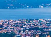 Miazzina, Lago Maggiore, vista su Verbania