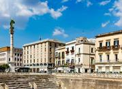Lecce, Salento, anfiteatro romano in Piazza Sant'Oronzo