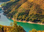 Lago di Vagli in Garfagnana