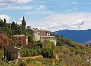 Cortona, vista sulla Val di Chiana