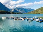 Lago alpino di Cavedine