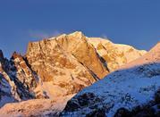 Massiccio del Monte Bianco visto da Entrèves