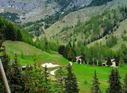 Un giro tra le Dolomiti di quaranta chilometri e quattro passi che parte da Arabba -