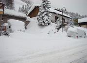 Panorama mozzafiato per lo sci di fondo e alpino - Claviere