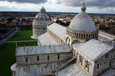 Vista aérea de la Catedral