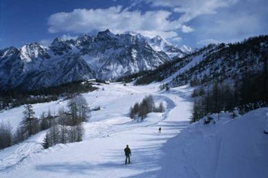 Valtellina ski run