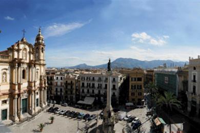 La piazza San Domenico