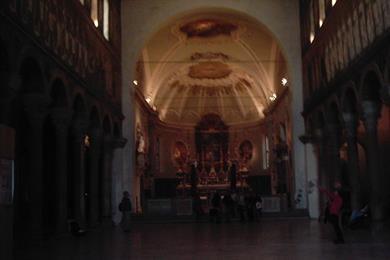 Interno di Sant'Appolinare nuovo