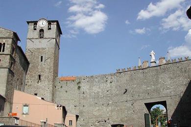 Viterbo, Porta Romana