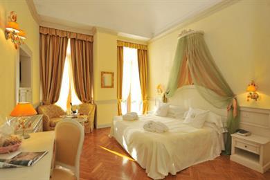Camera matrimoniale dell'Hotel Cenobio Dei Dogi